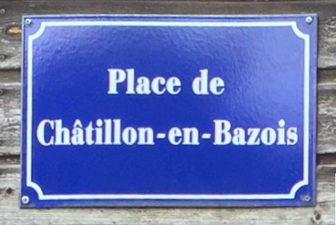 Place de Châtillon-en-Bazois