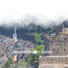 Titelseite Romantischer Rhein – St. Goar