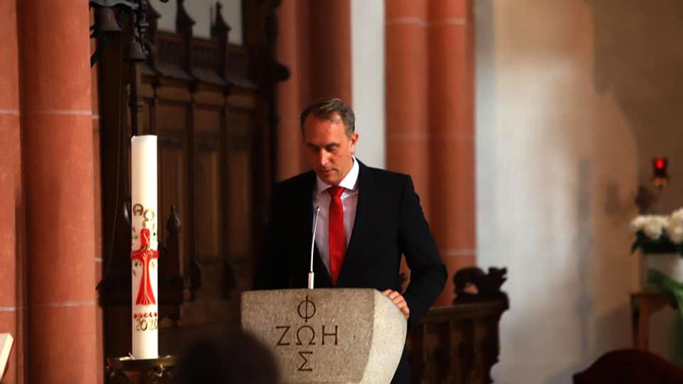 Rede von Stadtbürgermeister Falko Hönisch  zum Festakt am 19. September 2020 zur  Begründung der Kooperation zwischen der  Stadt Sankt Goar und der  Prinzessin Kira von Preußen Stiftung