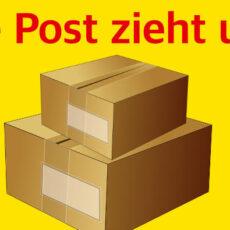 Post mit neuer Filiale
