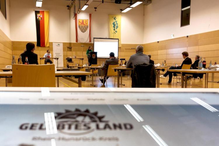 Regionalrat Wirtschaft tagt in der Rheinfelshalle in St. Goar