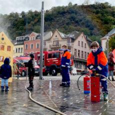 Infotag der Feuerwehr auf dem Rheinbalkon in St. Goar