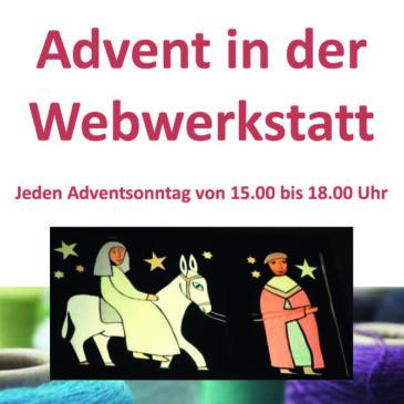 Advent in der Webwerkstatt