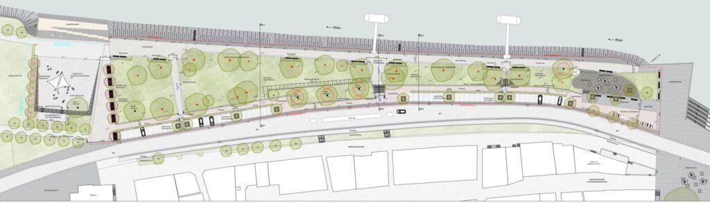 Die Planung eines attraktiven Rheinufers in St. Goar.