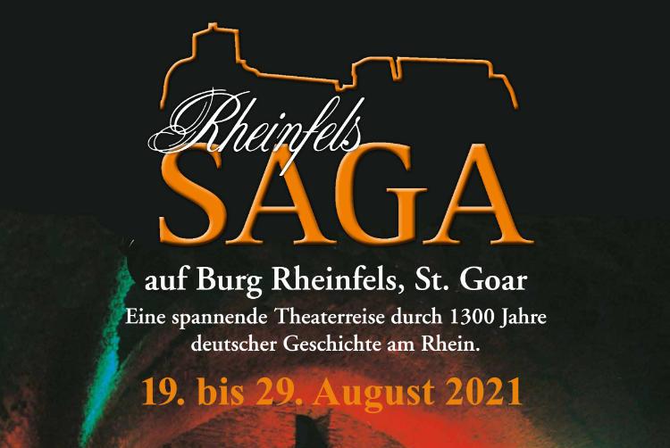 Rheinfels SAGA im August 2021 in St. Goar
