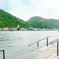 Wasserstand des Rheins