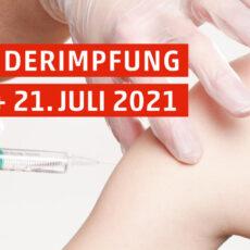 Sonderimpfaktion: Erstimpfungen mit BionTech