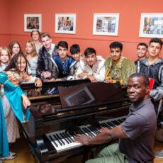 Jugendliche erarbeiten eigenes Musical