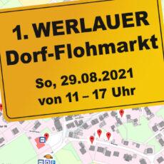 1. WERLAUER Dorf-Flohmarkt